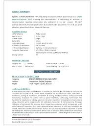 Qc Inspector Resume Mechanical Inspector Resume Quality Control