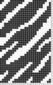 Zebra Patterns Classy Zebra Stripes For Stranded Knitting Charts Pinterest Fair