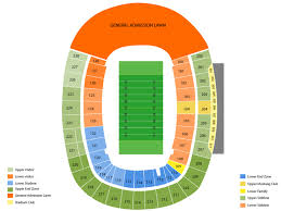 Ford Stadium Seating Chart Gerald Ford Stadium Seating Chart And Tickets