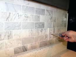 caulking kitchen backsplash. Caulking Kitchen Backsplash Marble Subway Tile Tiles White Best Caulk