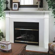 Pearl Mantels Berkley Wood Fireplace Mantel Surround - Walmart.com