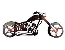 smw159 custom metal motorcycle wall art chopper on motorcycle wall art sculpture with smw159 custom metal motorcycle wall art chopper sunriver metal works