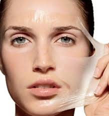 mix together one part lemon juice and one part egg whites for an at home mask