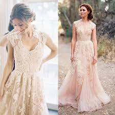 discount reem acra vintage blush pink dusty rose appliqued lace