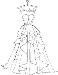 Wedding Dress Coloring Pages Fresh Barbie Dresses Wiegraefeco