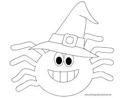 Disegni Da Colorare Di Halloween Disegni Halloween Da Colorare Ragno