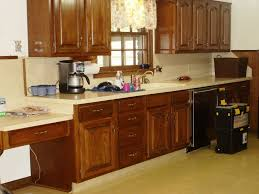 Painting Over Oak Kitchen Cabinets Laminate Kitchen Countertops Popular Types Of Kitchen Within