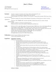 Soa Tester Sample Resume Resume Template Accounting Resume