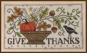 Imaginating Cross Stitch Charts Give Thanks Chart By Imaginating Cross Stitch Charts