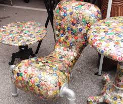 bottle cap furniture. bottle cap chair furniture a