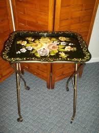 tv dinner table. vintage black tv tray on wheels tv dinner table l