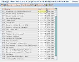 Wcb Assessable Earnings Chart Wcb Erp Human Capital Management Community Wiki