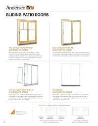 anderson perma shield patio door series gliding patio doors andersen 200 series perma shield gliding patio