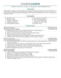 Warehouse Associate Resume Fresh Free Free Sample Resume For
