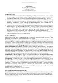 It Program Manager Resume Template Infrastructure For Architect