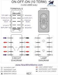 windlass rocker switch at dpdt toggle wiring diagram