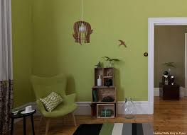 green wall paintDulux Color Trends 2012 Popular Interior Paint Colors  Interiors