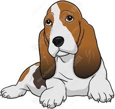 Basset Hound Cartoon Dog (Page 1 ...