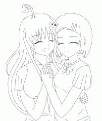 Best Friends Coloring Page Coloring Pages For All Ages Coloring Home