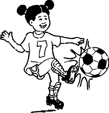 Small Picture Soccer Coloring Page Woman Soccer Player Coloring Coloring Pages