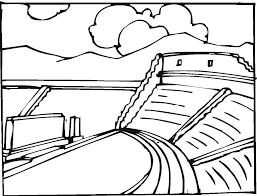 Printable Greek Amphitheatre Coloring Pages Skat | Bebo Pandco