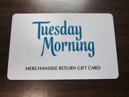 tuesday morning gift card merchandise credit balance 99 1 of 1only 1 available