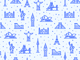 Web Patterns by Alex Kunchevsky Dribbble Fascinating Patterns