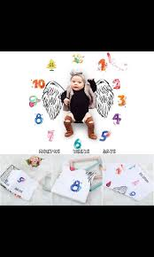 Baby Growth Chart Blanket