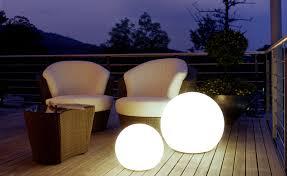 outdoor globe lighting deck