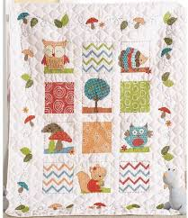 Bucilla Woodland Baby Crib Cover - Stamped Cross Stitch Kit 46186 ... & Woodland Baby Crib Cover - Stamped Cross Stitch Kit Adamdwight.com