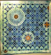 Wyoming State Quilt Guild, 2012 opportunity quilt- 2 of my ... & Wyoming State Quilt Guild, 2012 opportunity quilt- 2 of my favorite  patterns -storm Adamdwight.com