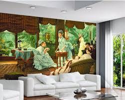 Beibehang Aangepaste Behang 3d Foto Muurschildering Jaloezieën
