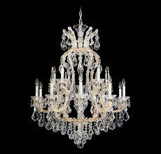 image of schonbek milano chandelier