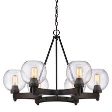 this review is from galveston 6 light rubbed bronze chandelier with seeded glass shades