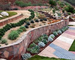 Small Picture Fine Backyard Retaining Wall Designs And More On Landscape Walls