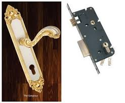 laxmi mortice lock pin cyl big with handle gorgeous go