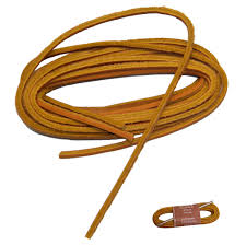 45 inch 114 cm tan rawhide leather replacement kit w lacing needle two laces of tan rawhide and one 5 inch aluminum lacing needle with instructions
