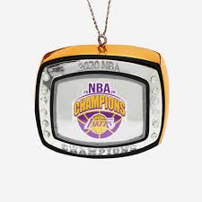 Traded to los angeles (lal) from oklahoma city (okc) for danny green and 2020 1st round pick (#28). Los Angeles Lakers 2020 Nba Champions Ring Ornament Foco