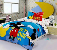 image of mickey mouse toddler bedding