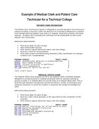 Patient Care Technician Resume Sample patient care technician sample resumes Roho60sensesco 2