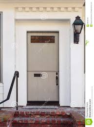 Decorating front door clipart pictures : Taupe Front Door Of Modern Home Stock Image - Image: 38940343