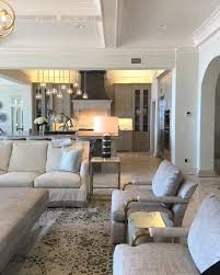 interior beautiful living room concept. Wonderful Interior A Beautiful Neutral Color Scheme Keeps The Open Concept Living Room And  Kitchen Easy On Eyes Mix Of Metals Island Lighting Pewter Vent  Inside Interior Beautiful Living Room Concept I