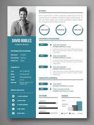 Mejores Plantillas Curriculum Infografia Word Vigo Diseños