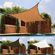 Medium Square Sail Extra-heavy Fabric Sun Shade - Free Shipping Today -  Overstock.com - 10100425