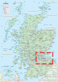 edinburgh map  edinburgh on the detailed map of scotland england