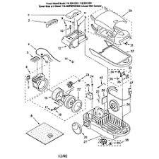 kenmore vacuum parts. body/base kenmore vacuum parts
