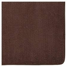 mohawk home memory foam bath mat brown rug 18 x 27 black