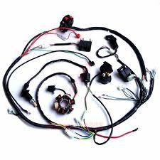 atv harness buggy wiring harness loom gy6 engine 125 150cc quad atv go kart kandi go kart
