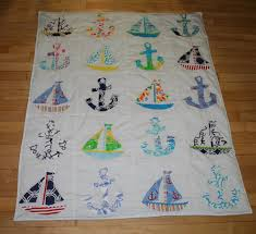 Baby Boy Nautical quilt made with Lilly Pulitzer fabric & 🔎zoom Adamdwight.com