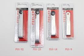 Spring Steel Gauge Chart Jetech Tool 23 Piece Blade Spring Steel Go On Go Master Feeler Gage Gauge Set 0 02 1mm Gap Filler Thickness Measurement Tool
